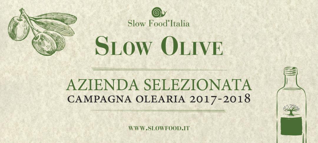 attestato olio slow food
